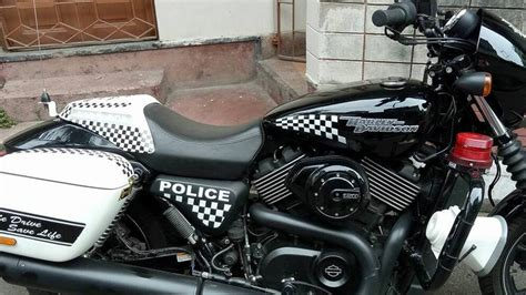Kolkata Police Take Harley Davidsons For Spin On