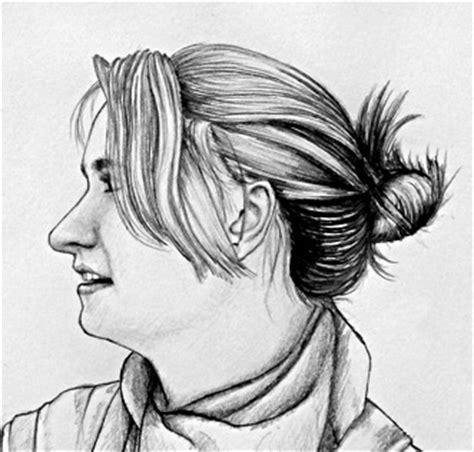 learn  draw  side view portrait face