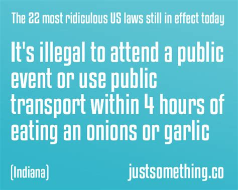 laws in the us the 22 most ridiculous us laws still in effect today 10 is just crazy lol page 2 of 2
