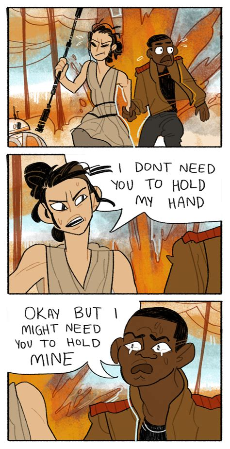 Rey And Bb8 Wallpaper These Fan Comics Take The Force Awakens In Crazy New Directions Geek And Sundry