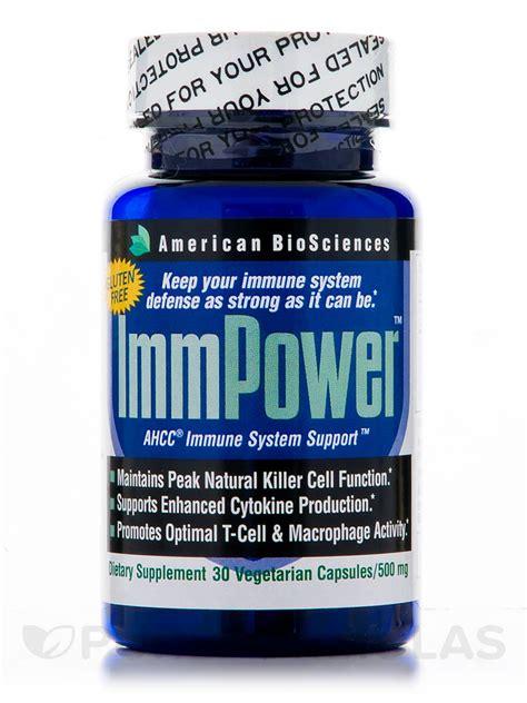 immpower ahcc 500 mg 30 vegetarian capsules
