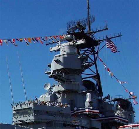 Superstructure Of The Battleship Uss Missouri (bb-63