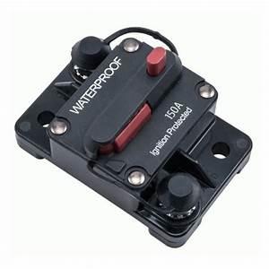 Installbay Waterproof Circuit Breaker  150 Amp