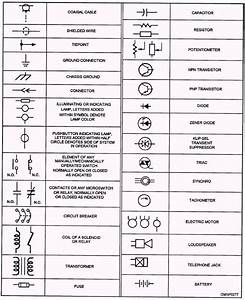 Electrical Symbols Chart