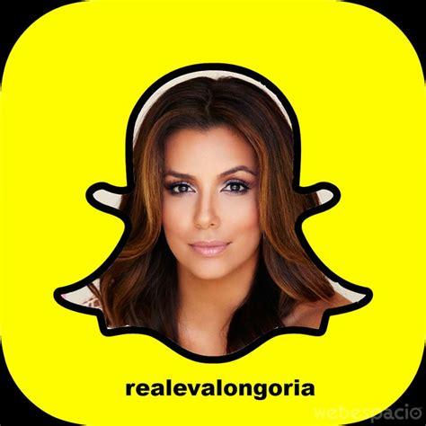 famosos  los  debes seguir    en snapchat