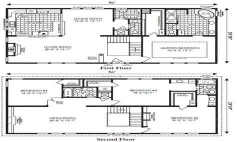 open floor plans small home modular home floor plans