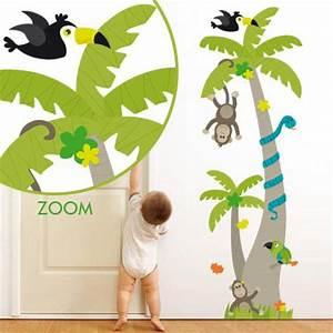 Stickers Animaux De La Jungle : stickers arbre animaux jungle stickers malin ~ Mglfilm.com Idées de Décoration