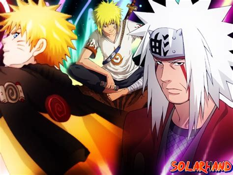 Naruto, Yondaime And Jiraiya / Jiraiya