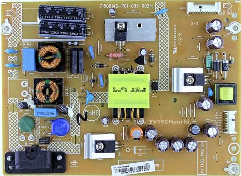 Pltvdlxxf Insignia Power Supply For Television Model