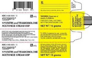 NYSTATIN AND TRIAMCINOLONE ACETONIDE - nystatin and triamcinolone ... Nystatin and Triamcinolone