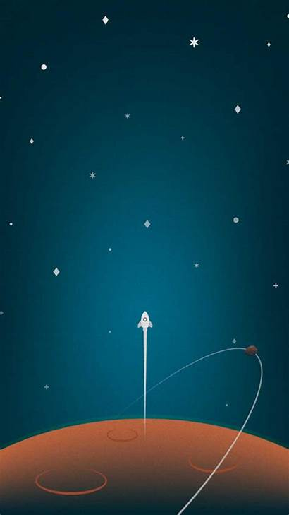 Minimal Wallpapers Background Universe Mobile