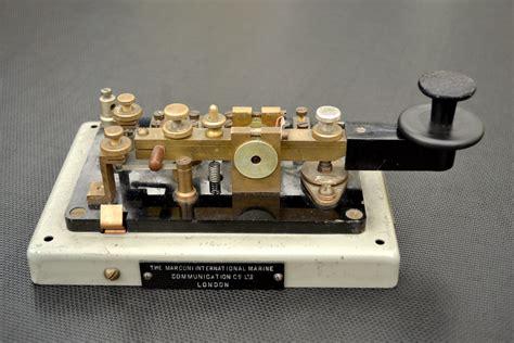 Marconi Type 365a Morse Code Key