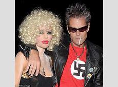 Harry Hamlin wears swastika for Sid Vicious costume while