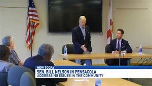 Sen. Bill Nelson visits Pensacola, addresses issues in ...
