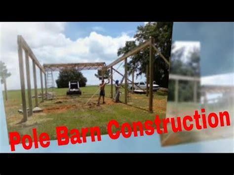 pole barn installation pole barn installation