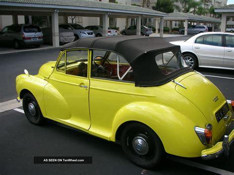 1965 Morris Minor 1000 Convertable