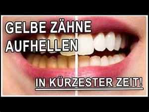 Weiße Zähne Hausmittel : wei e z hne bekommen in 5 minuten mit hausmittel gelbe z hne selber aufhellen youtube ~ Frokenaadalensverden.com Haus und Dekorationen