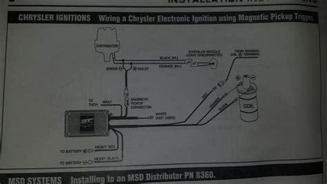 Msd Streetfire Igntion Box Installation Turbo Dodge