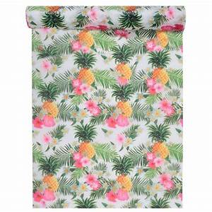 Deco Table Tropical : chemin de table d cor tropical x 5 m tres ~ Teatrodelosmanantiales.com Idées de Décoration