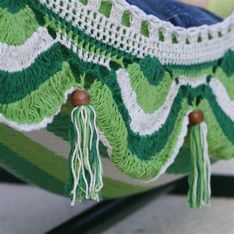 Crochet Hammock by Deluxe Mayan Crochet Hammock Palma