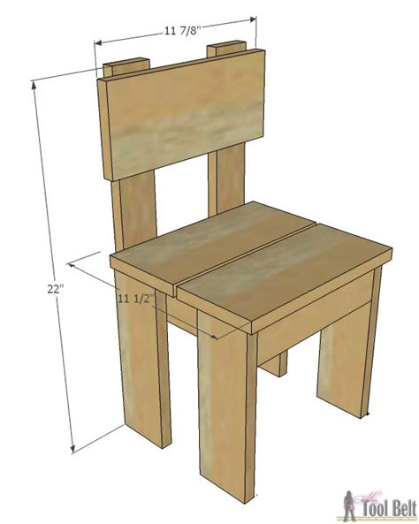 simple kids table  chair set  tool belt