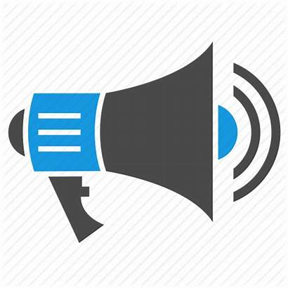 Icon Advertising Ads Bullhorn Megaphone Marketing Loudspeaker