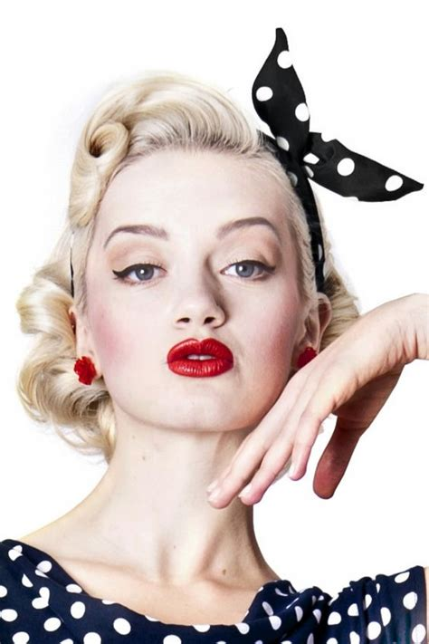 50s Pin Up Hairstyles by Bandanas Pin Up Hairstyles And 50s Pin Up On