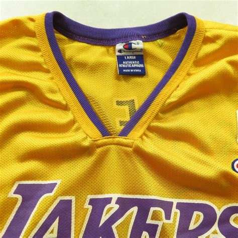 Vintage 90s LA Lakers Shaquille O'Neal 34 Jersey Champion ...