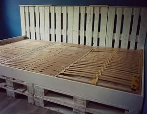 Matratze Für Palettenbett : palettenbett mit lattenrost furchterregend auf kreative deko ideen f r mit in wei 9 ~ Eleganceandgraceweddings.com Haus und Dekorationen