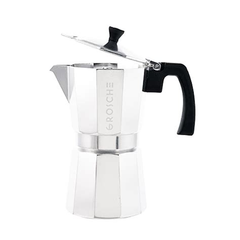 Best stovetop coffee makers for 2021. MILANO Italian Coffee Maker Stovetop Espresso Maker | GROSCHE
