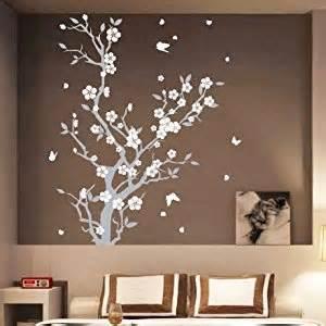medium blossom flower tree butterfly wall arts wall