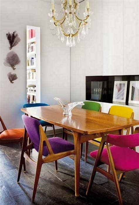 Colored dining room sets
