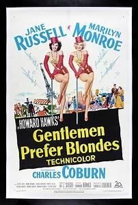 GENTLEMEN PREFER BLONDES * 1953 CineMasterpieces MOVIE ...