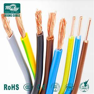 China 1 5mm2 2 5mm2 4mm2 6491x Single Core Cable