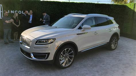 2019 Lincoln Nautilus Is The Facelifted Mkx