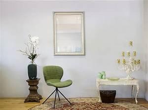 Spiegel Mit Weißem Rahmen : spiegel mit wei em silbernem rahmen ~ Indierocktalk.com Haus und Dekorationen