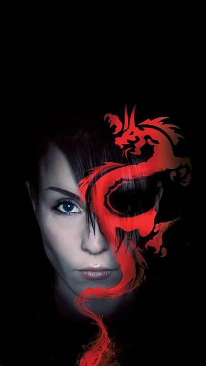 Tattoo Dragon Rapace Noomi Joker Rooney Mara