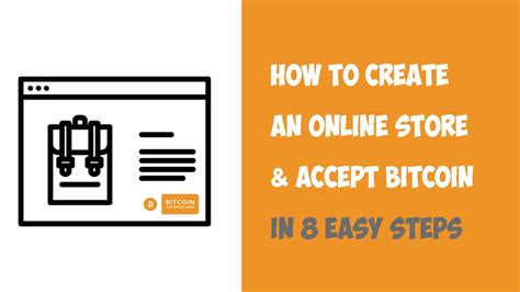 Written by clifford chi @bigreddawg16. How to Create an Online Store & Accept Bitcoin - Step By Step Guide • Bitcoin Shirt