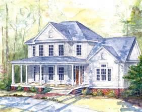 farmhouse house plans highland farm southern living house plans