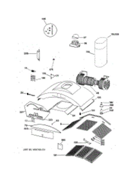 parts  ge zvsbss hood appliancepartsproscom