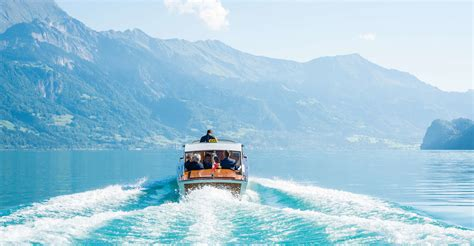 Interlaken: Private Boat Tour to the Giessbach Waterfalls
