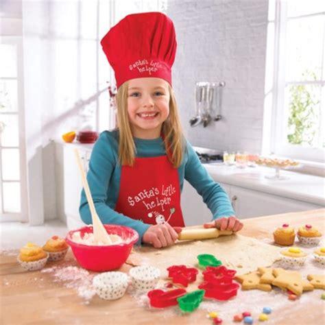 tablier et toque de cuisine tablier et toque ajustable pour enfant cooksmart pour