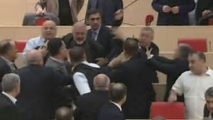Boxing Day brawl breaks out in Georgian parliament with ...