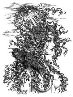 Tattoo sketch Mother Nature | Tattoo Drawings/Design