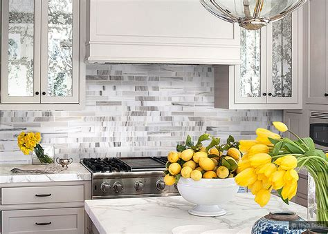 kitchen backsplash photo gallery gray kitchen features grey cabinets paired with white and 5055