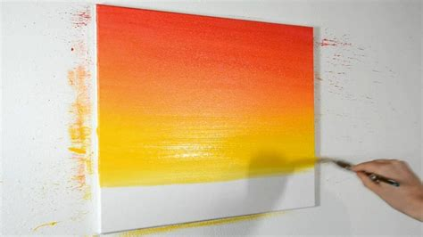 how to blend acrylic paints narrated demonstration