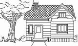 Coloring Pages Houses Village Drawing Simple Colouring Para Easy Casa Print Desenho Only Desenhos Desenhar Drawings Sketch Visitar sketch template