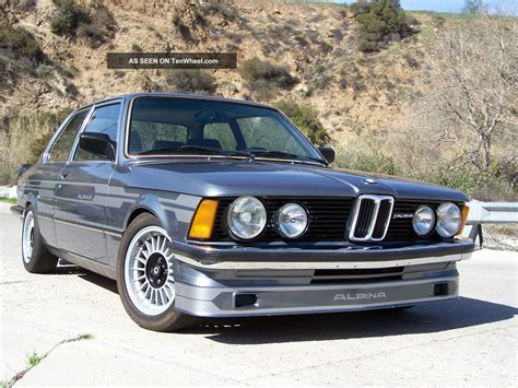 1982 Bmw 320i Alpina Tribute