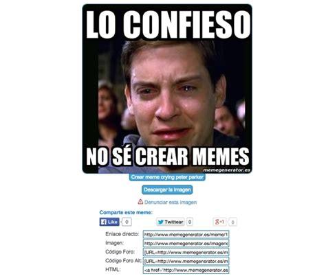Crear Un Meme Online - c 243 mo crear memes online con tus fotos chicageek