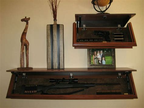 shelf gun safe gun cabinet shelf woodworking projects plans
